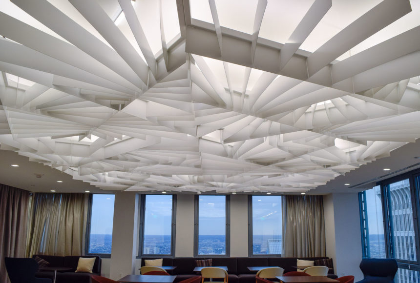 Atmosphera Lotus, Modular Ceiling, Panels