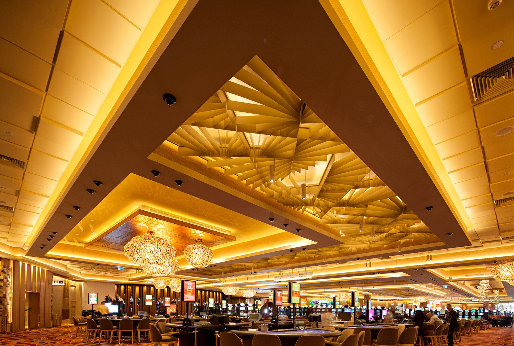 Arktura Atmosphera® Lotus installed in Crown Casino