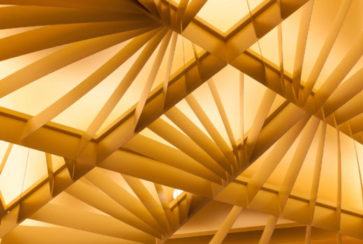 Close up of Arktura Atmosphera® Lotus installed in Crown Casino