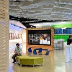 Arktura Atmosphera® Lotus installed in office