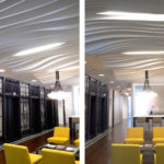 Arktura Atmosphera® Contour 3D installed in office