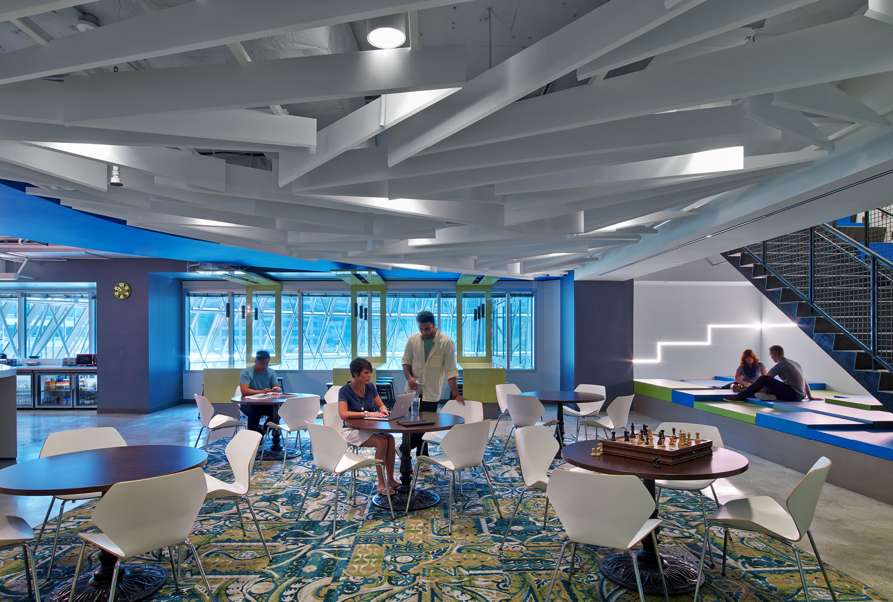 Arktura Solution Studio LinkedIn ceiling baffles