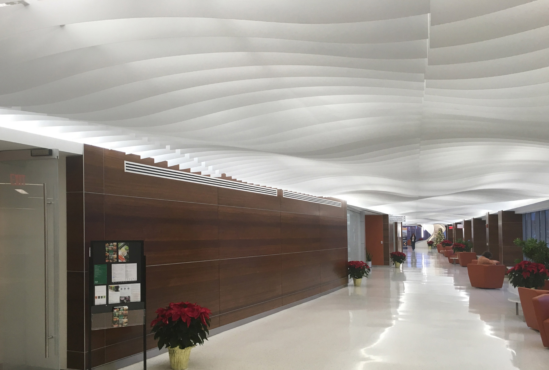 Arktura Atmosphera® Analog 3D installed in Penn Presbyterian