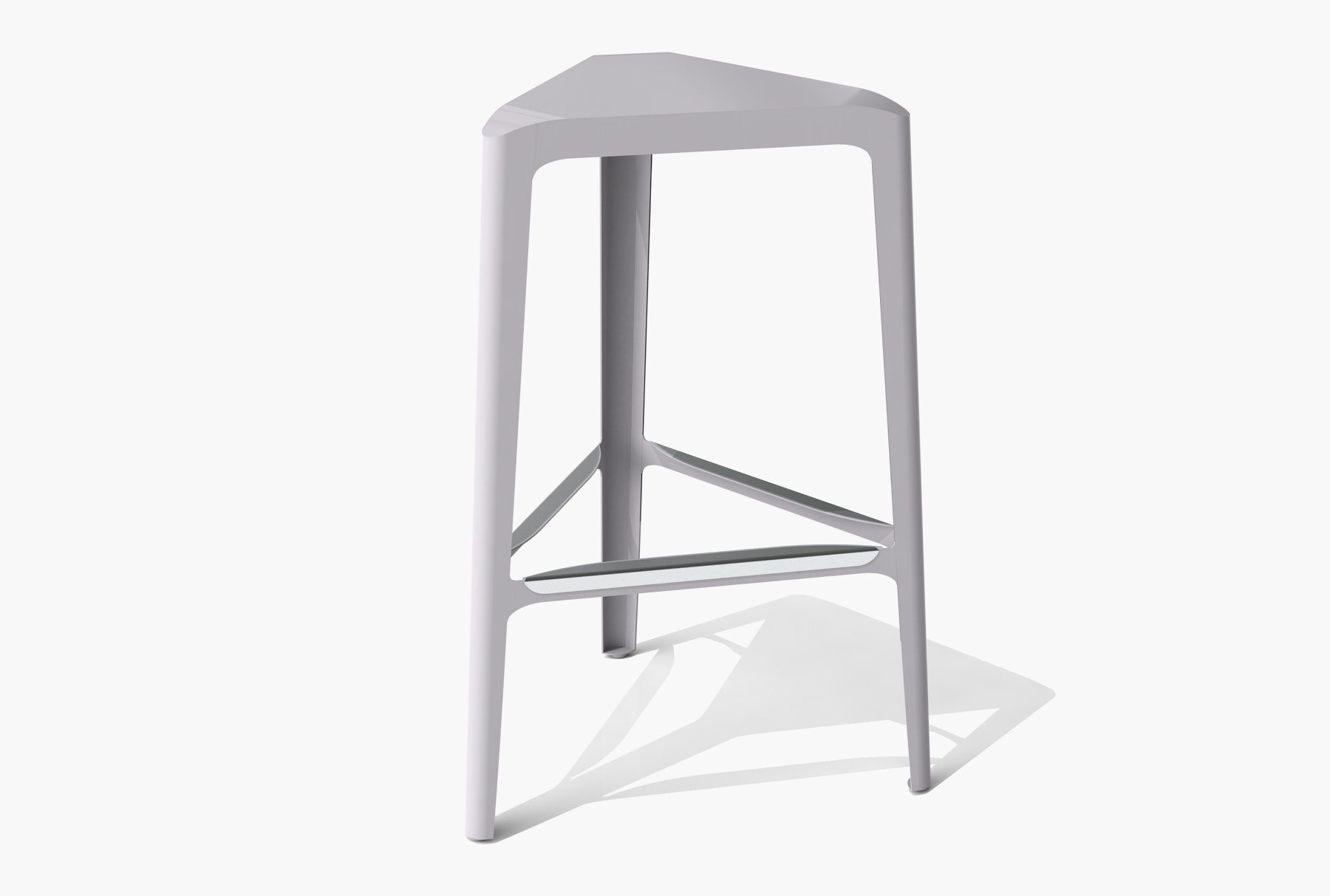 Arktura Clic Bar Stool in Aviator Gray
