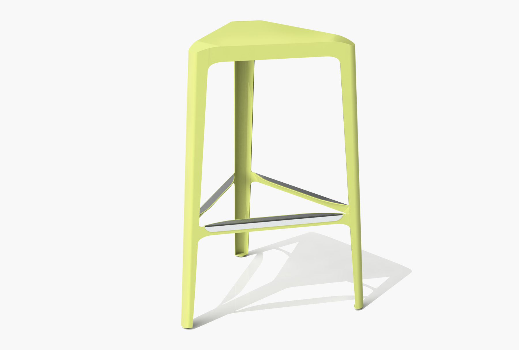 Arktura Clic Bar Stool in Lush Green