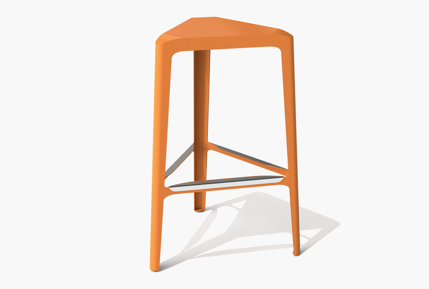 Arktura Clic Bar Stool in Salmon Sky