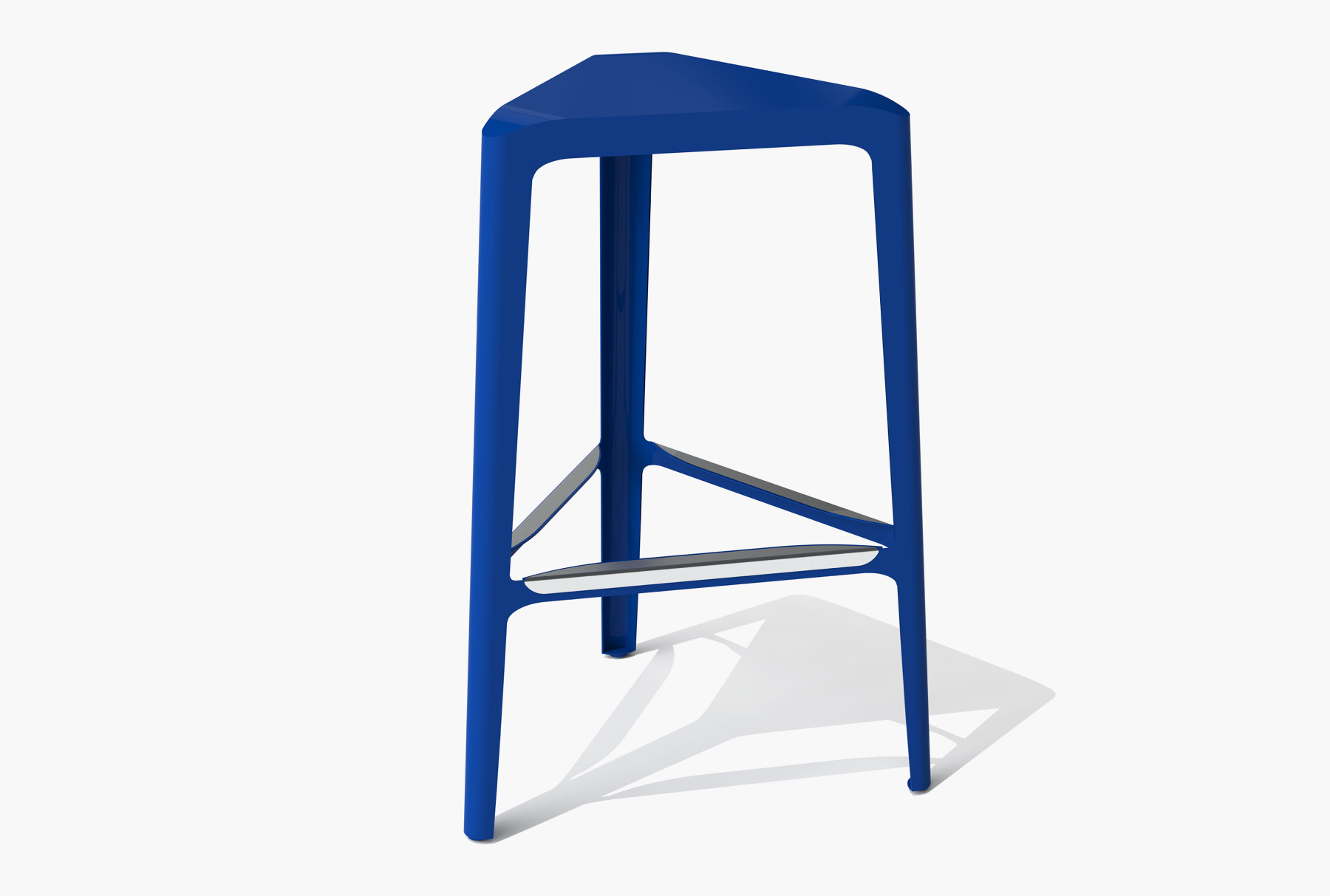 Arktura Clic Bar Stool in Baltic Blue