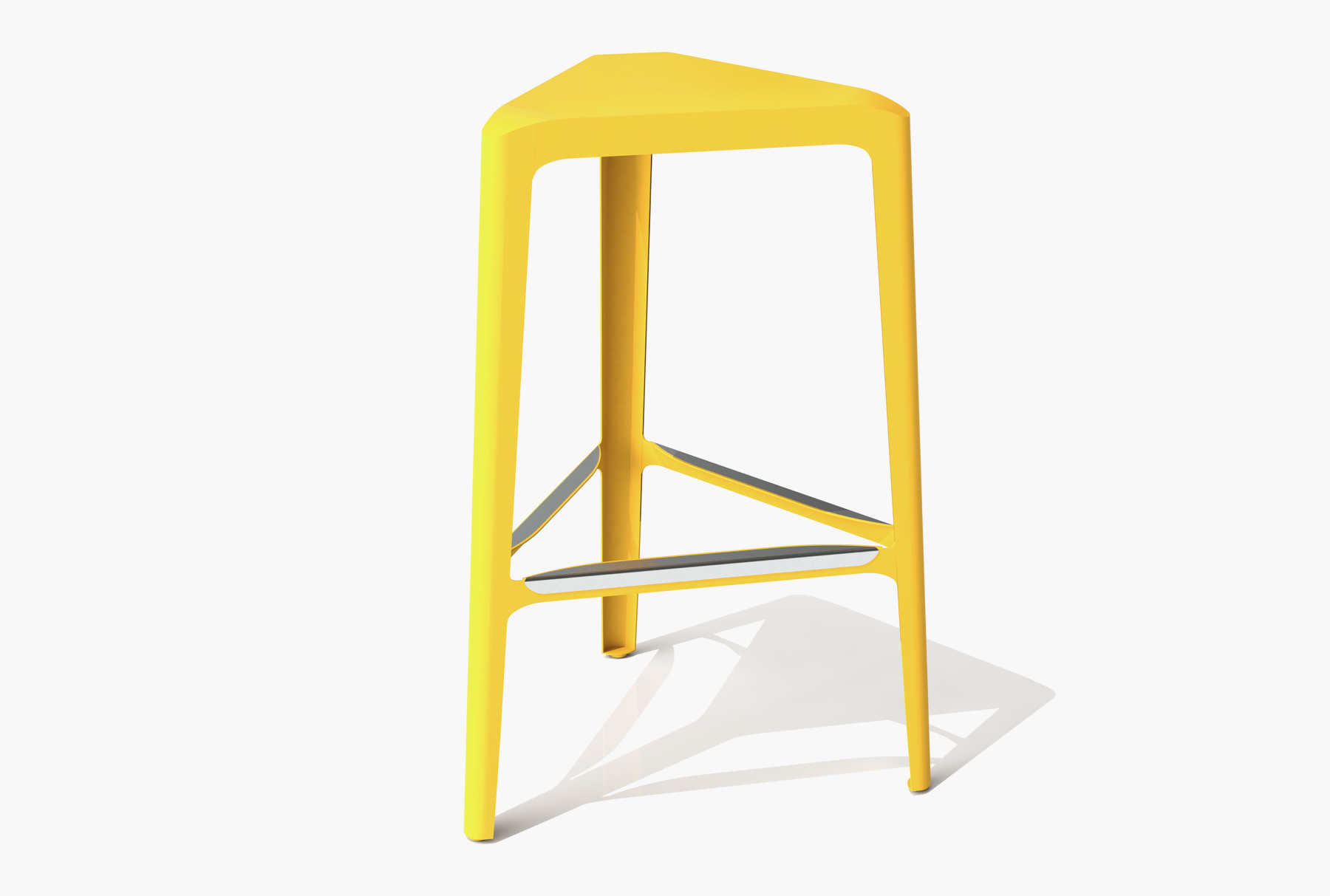 Arktura Clic Bar Stool in Bright Sun