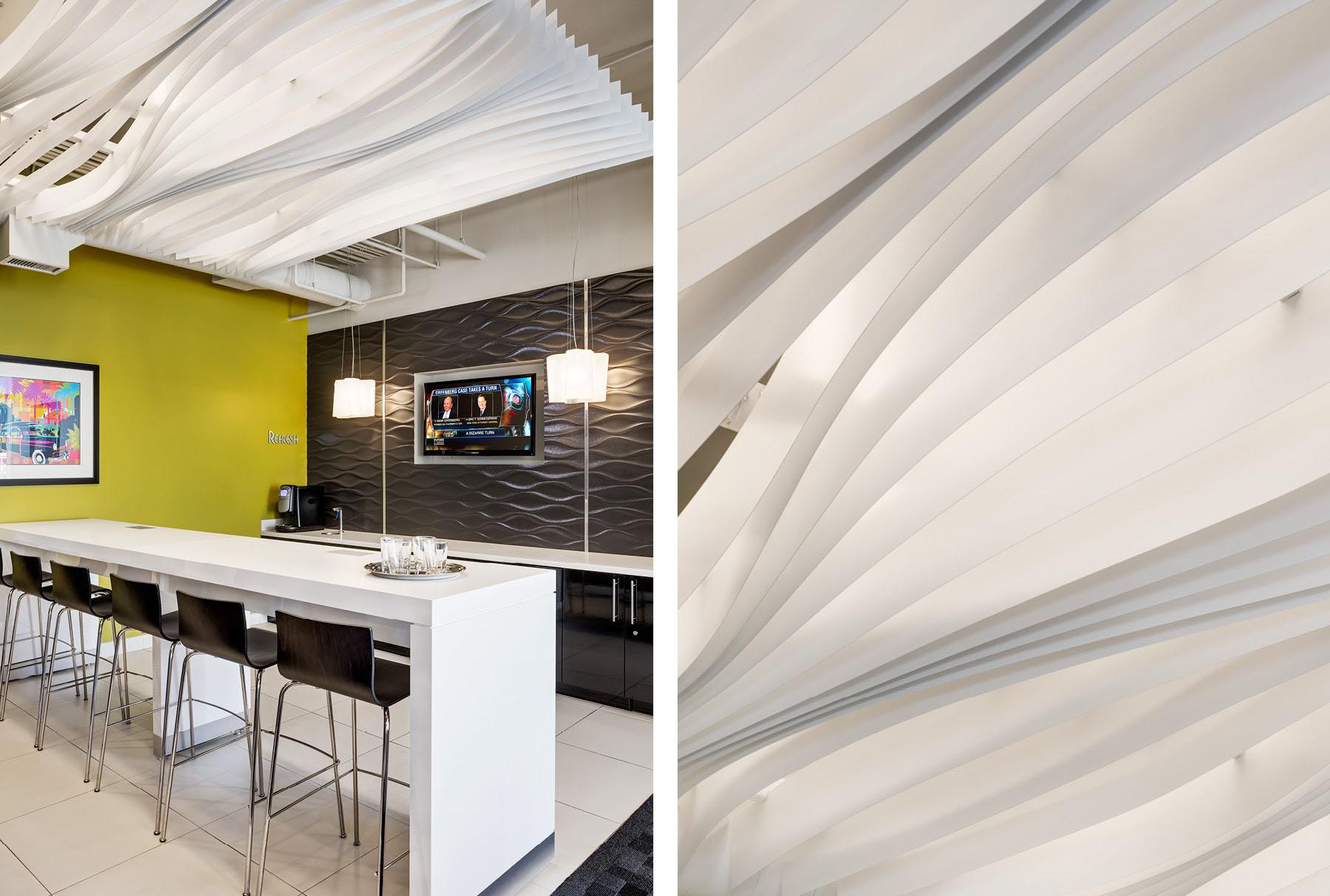 Arktura Atmosphera® Contour installed in lobby