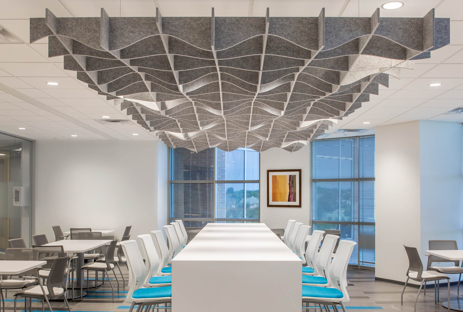 SoftGrid® Sine acoustical system installed in QBE office