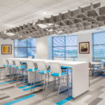 SoftGrid® Sine acoustical system installed at QBE office.