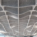 SoftGrid® Sine acoustical system closeup