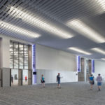 Arktura Atmosphera® Analog installed in convention center