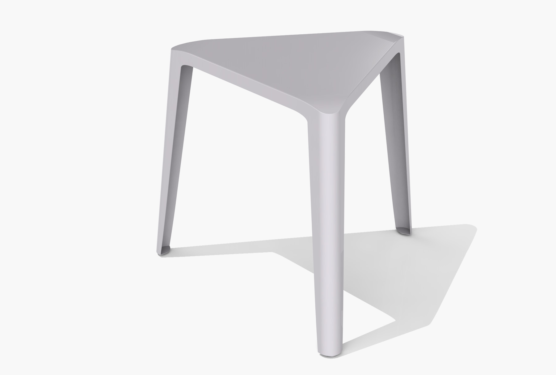Arktura Clic Low Stool in Silver Sand