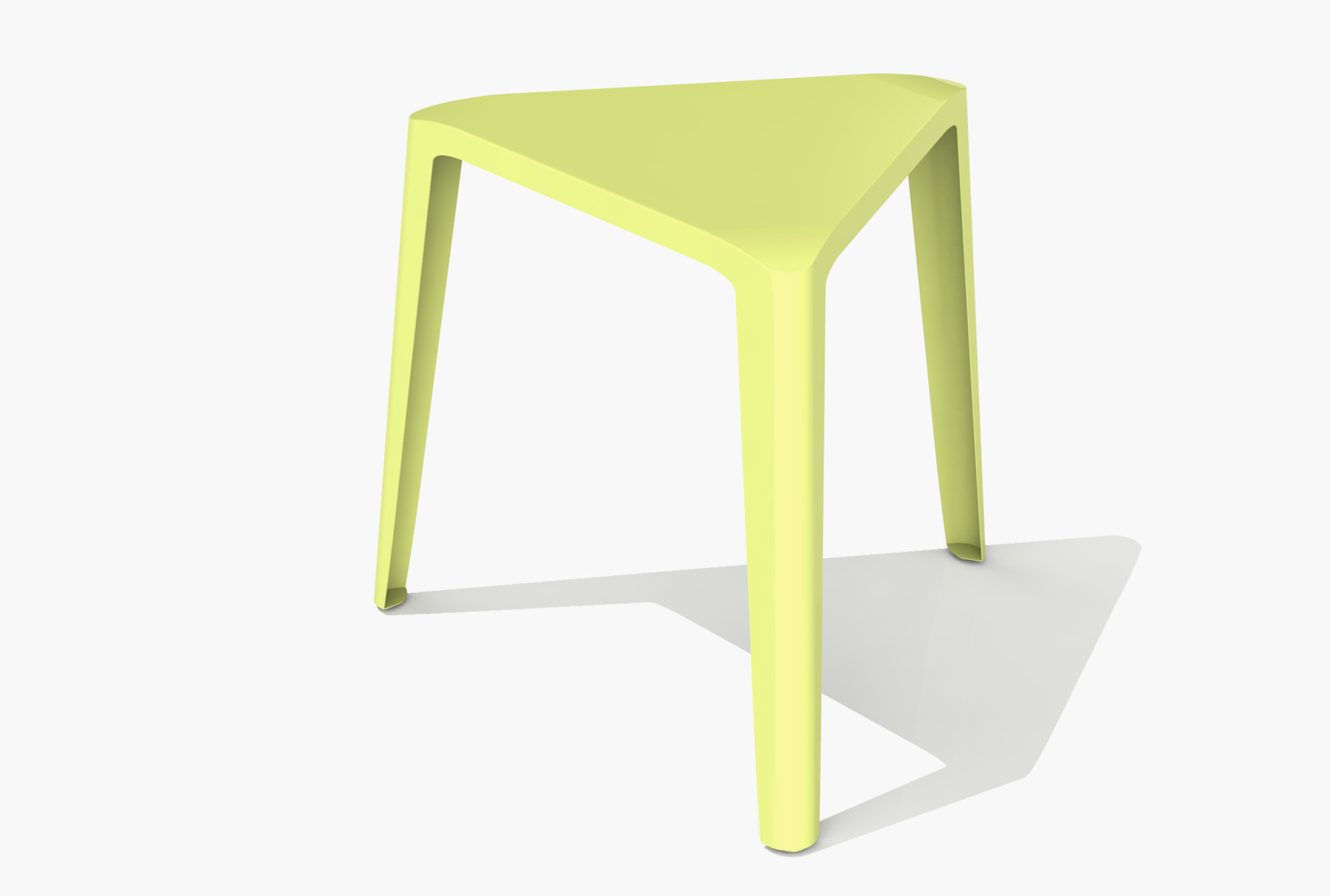 Arktura Clic Low Stool in Lush Green