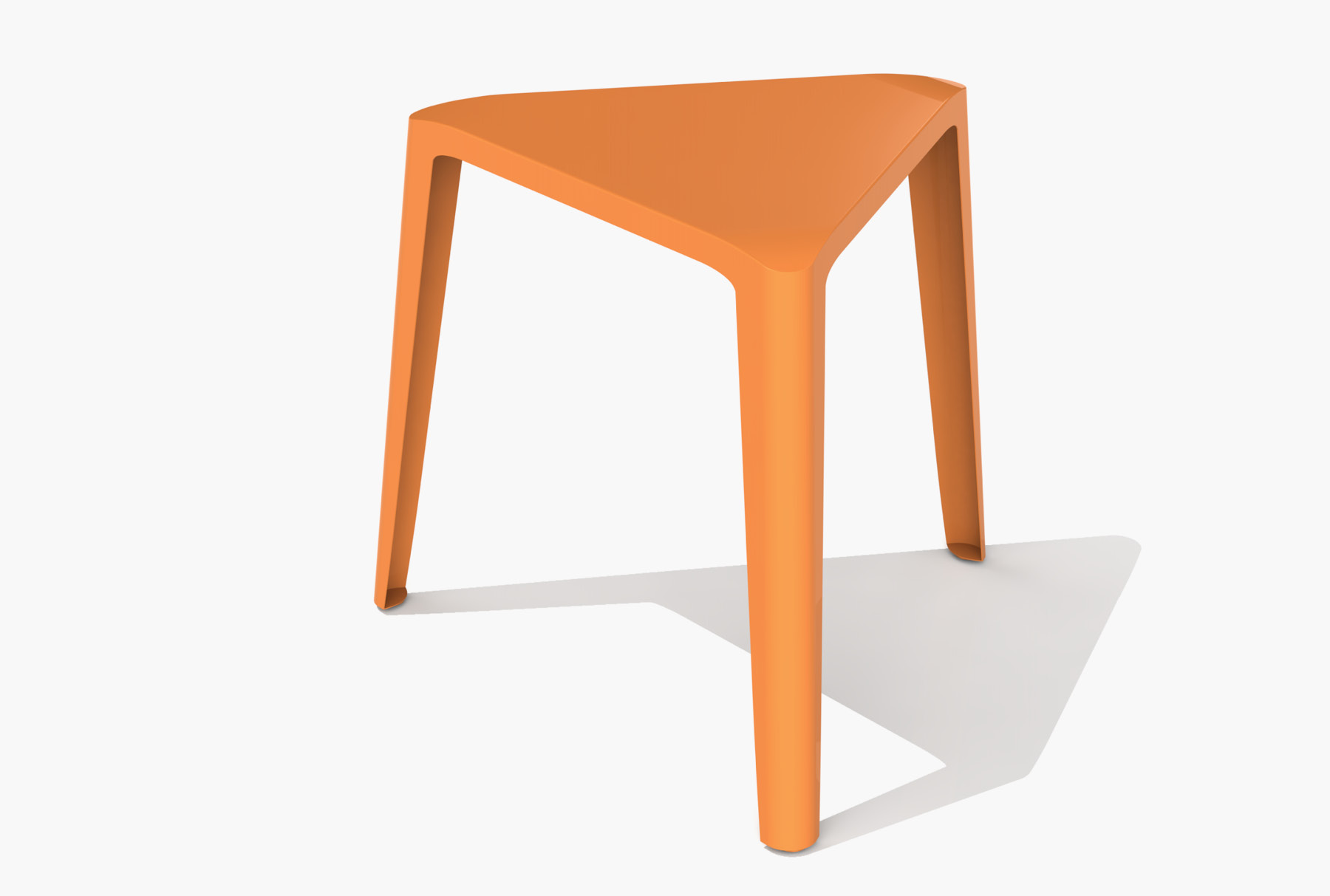 Arktura Clic Low Stool in Salmon Sky