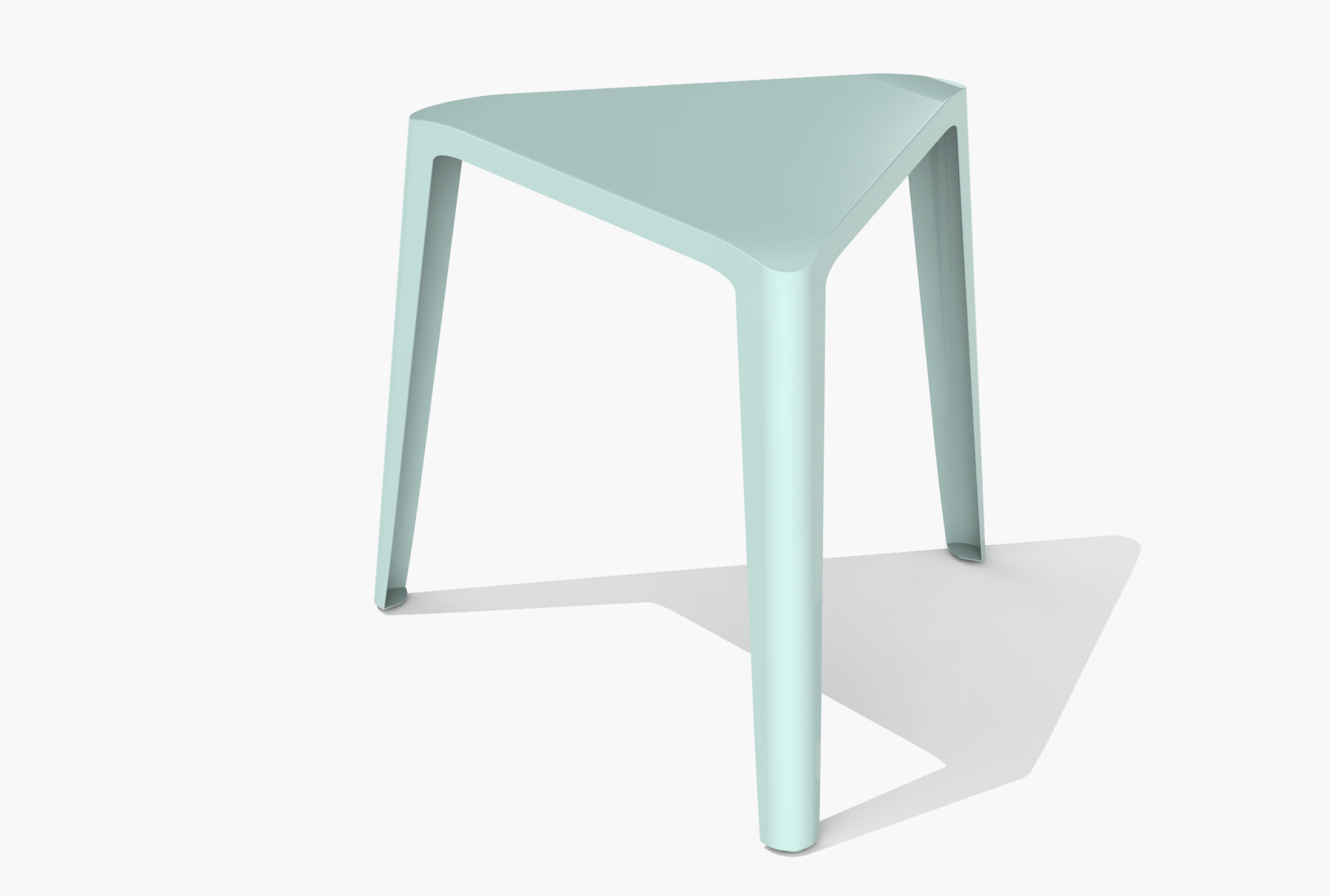Arktura Clic Low Stool in Sea Green