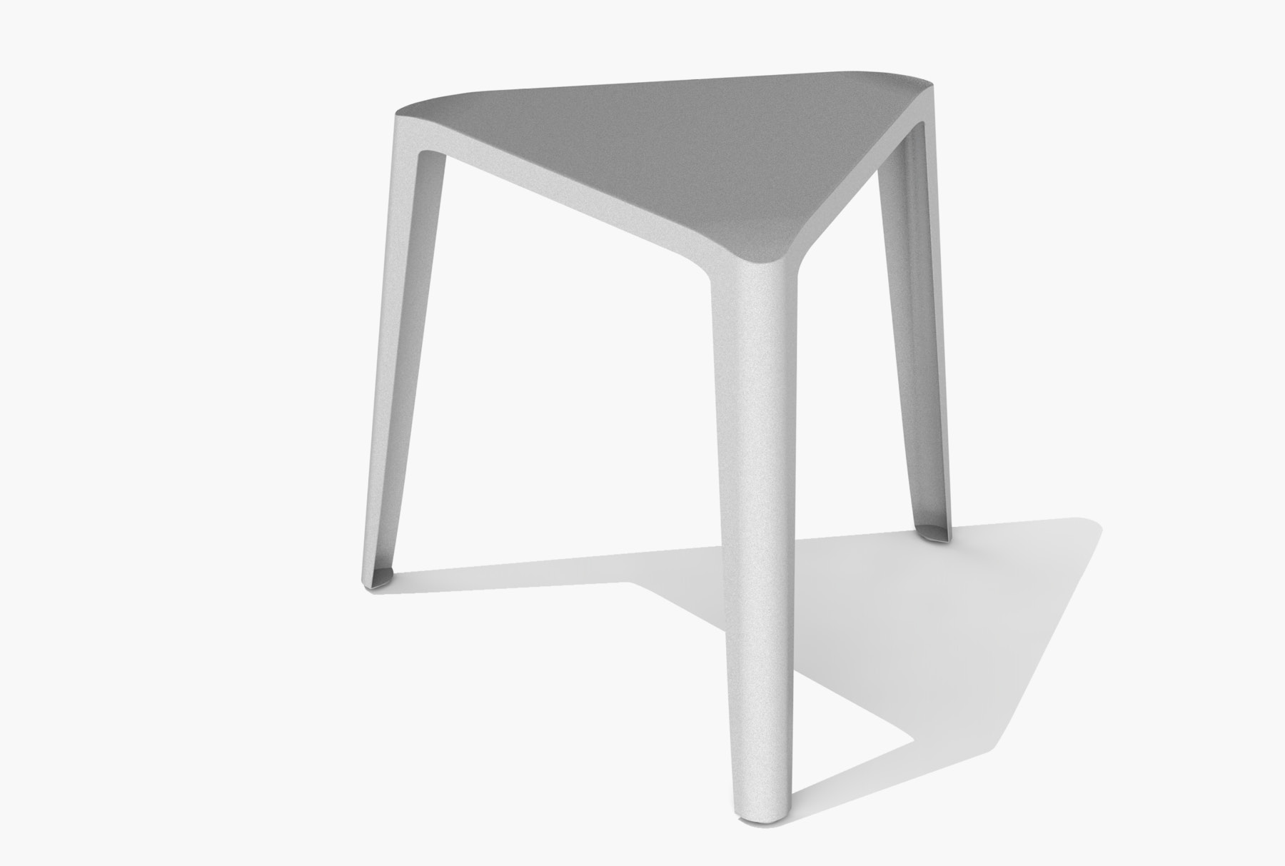 Arktura Clic Low Stool in Aviator Gray