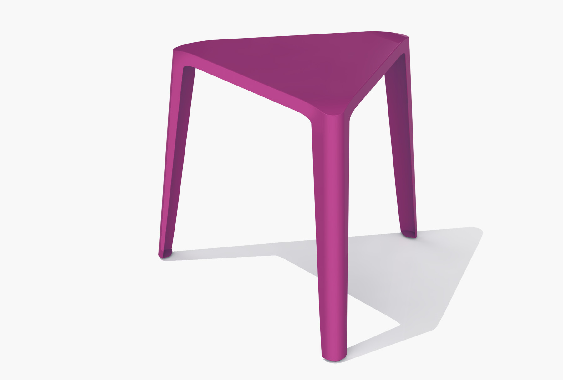 Arktura Clic Low Stool in Wild Orchid