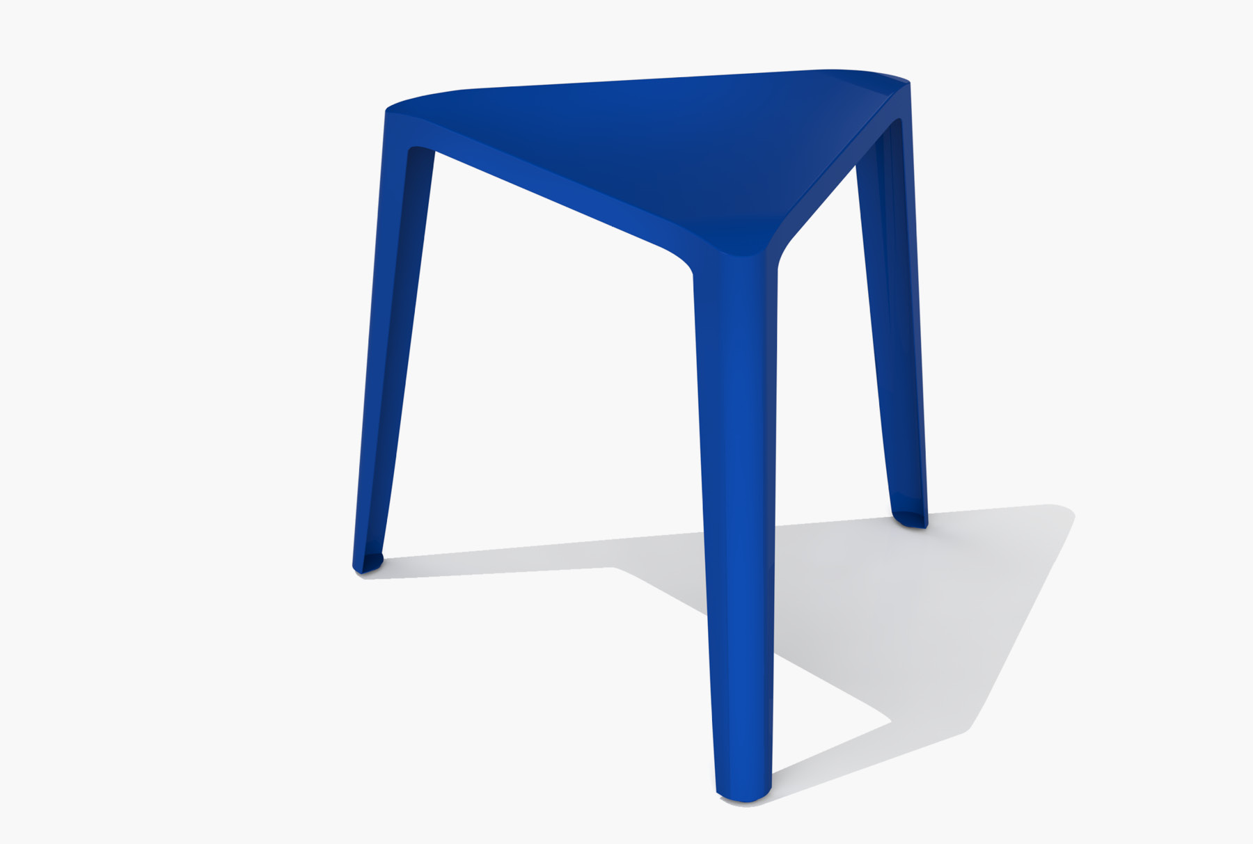 Arktura Clic Low Stool in Baltic Blue