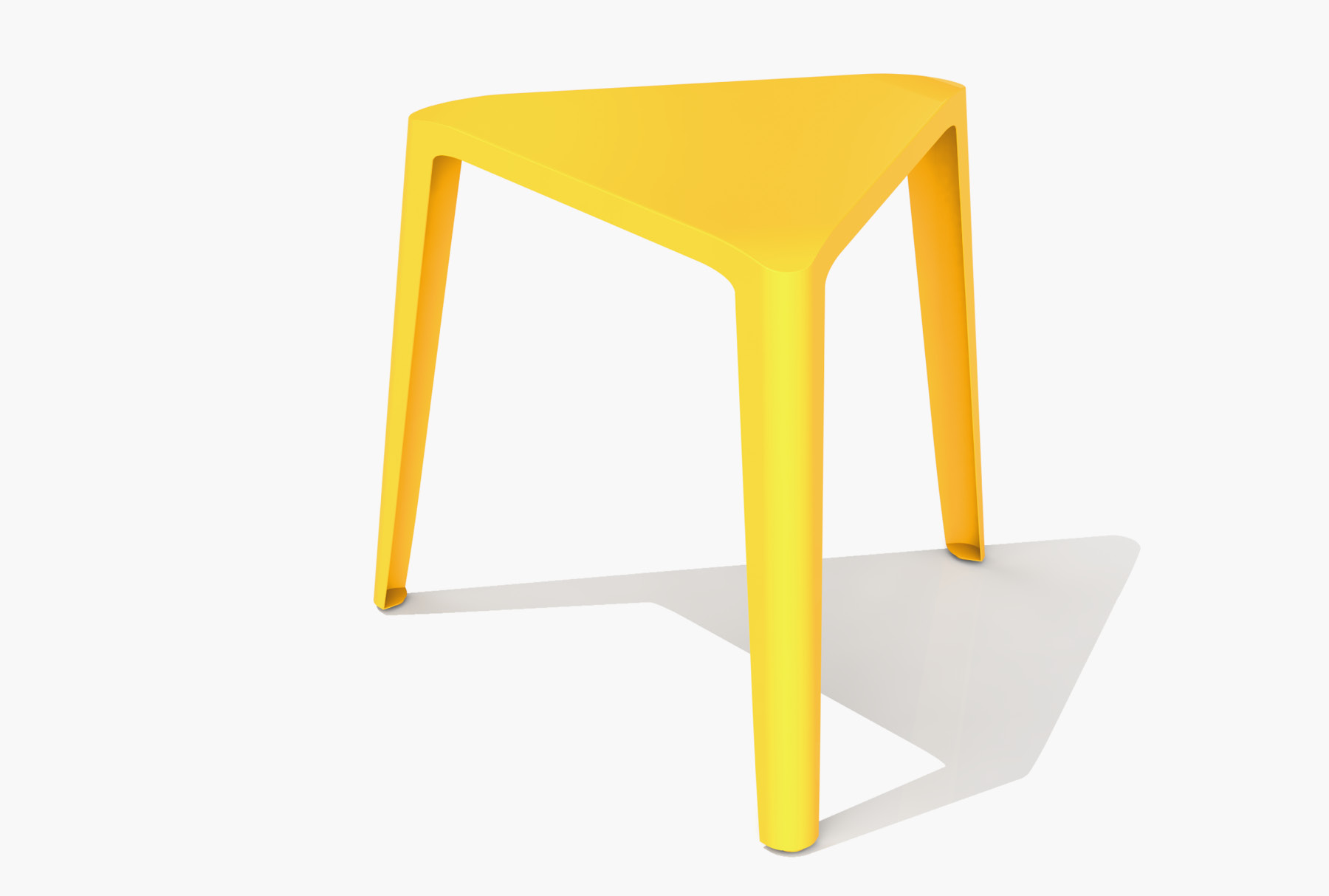 Arktura Clic Low Stool in Bright Sun