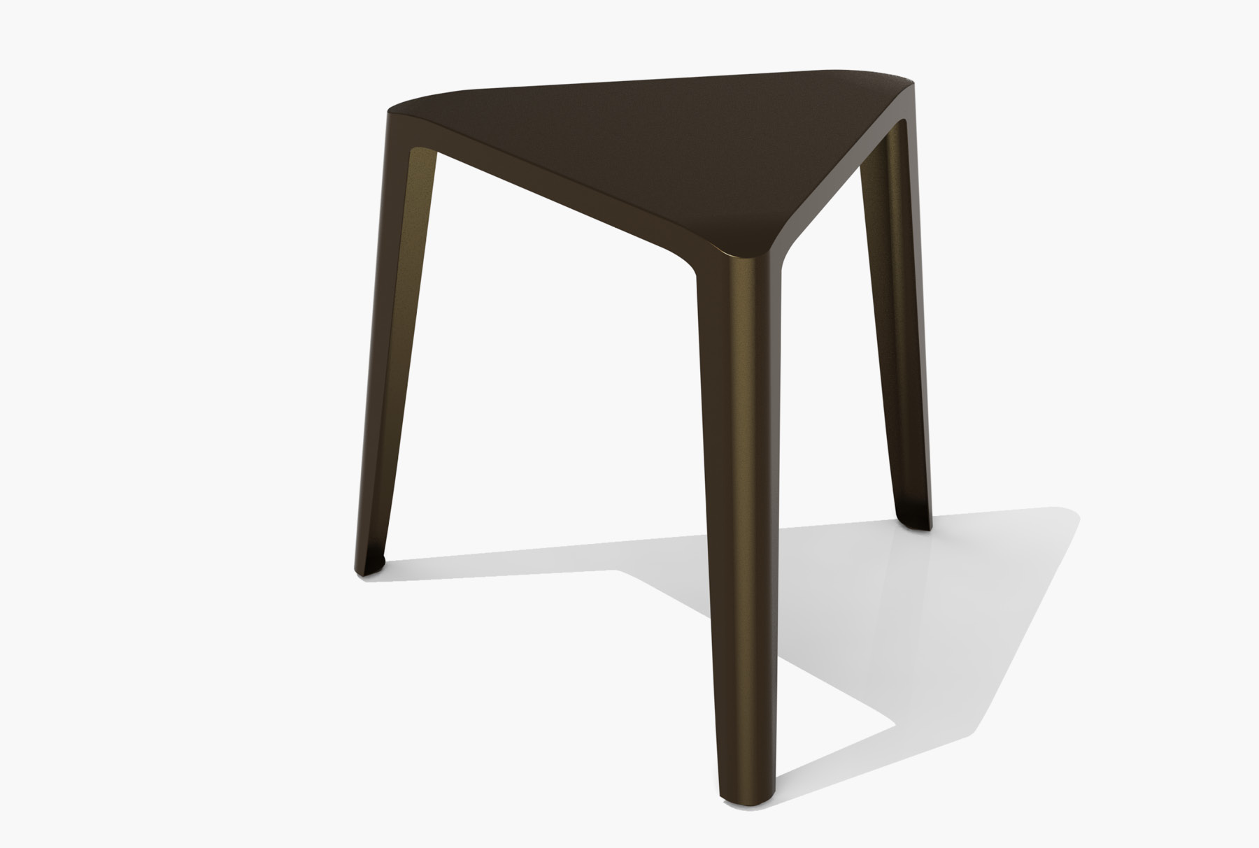 Arktura Clic Low Stool in Burnished Bronze