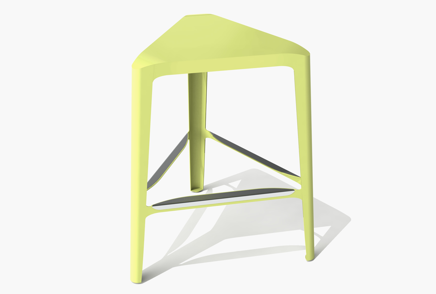 Arktura Clic Mid Stool in Lush Green