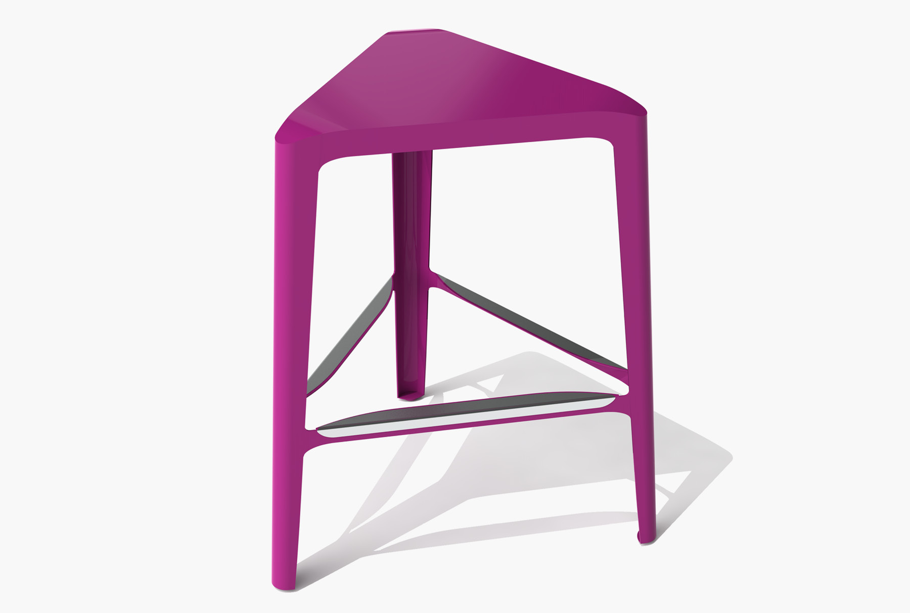 Arktura Clic Mid Stool in Wild Orchid