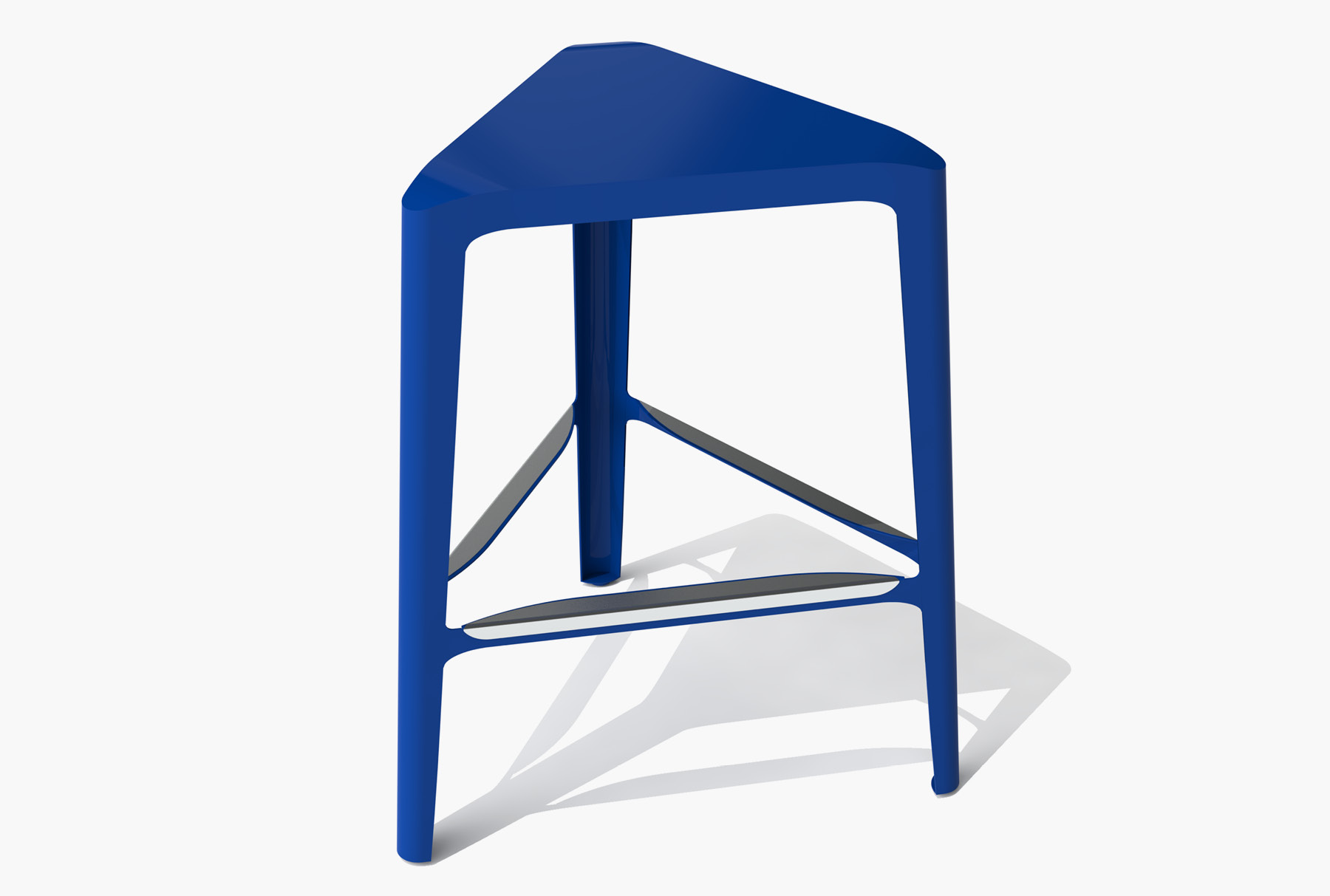 Arktura Clic Mid Stool in Baltic Blue