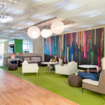 Arktura Atmosphera® Contour installed in Dell office