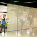Arktura Graphic Perf® Photoreal Interior movable screen
