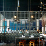 Arktura Solution Studio perforated screen for E&O Food and Drink