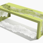 Arktura Hive Bench 50 in Lush Green