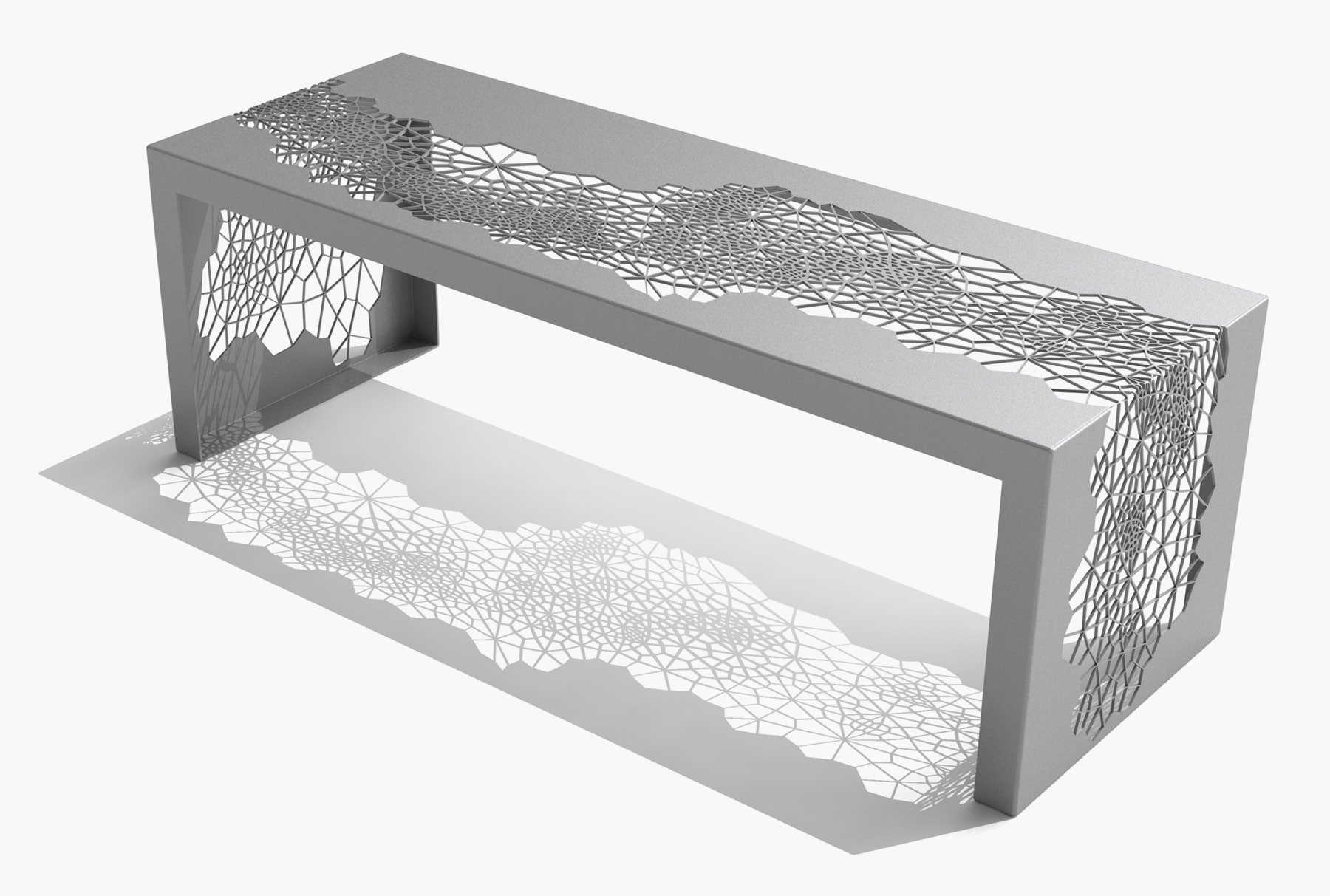 Arktura Hive Bench 50 in Silver Sand