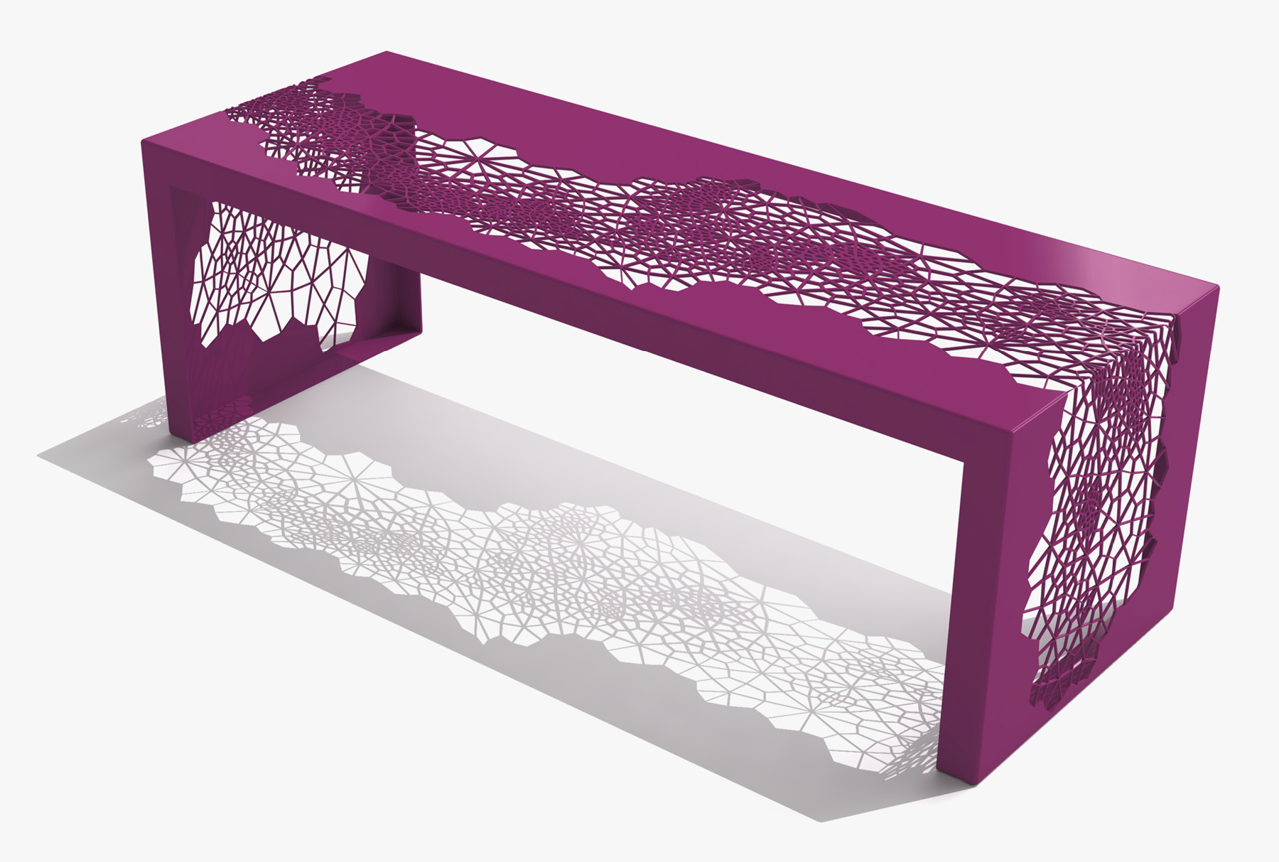 Arktura Hive Bench 50 in Wild Orchid