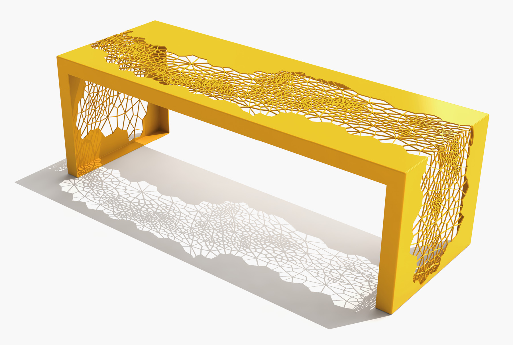 Arktura Hive Bench 50 in Bright Sun