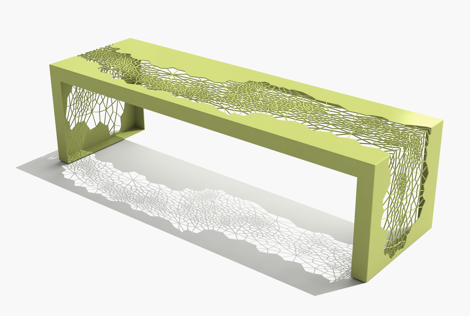 Arktura Hive Bench 60 in Lush Green