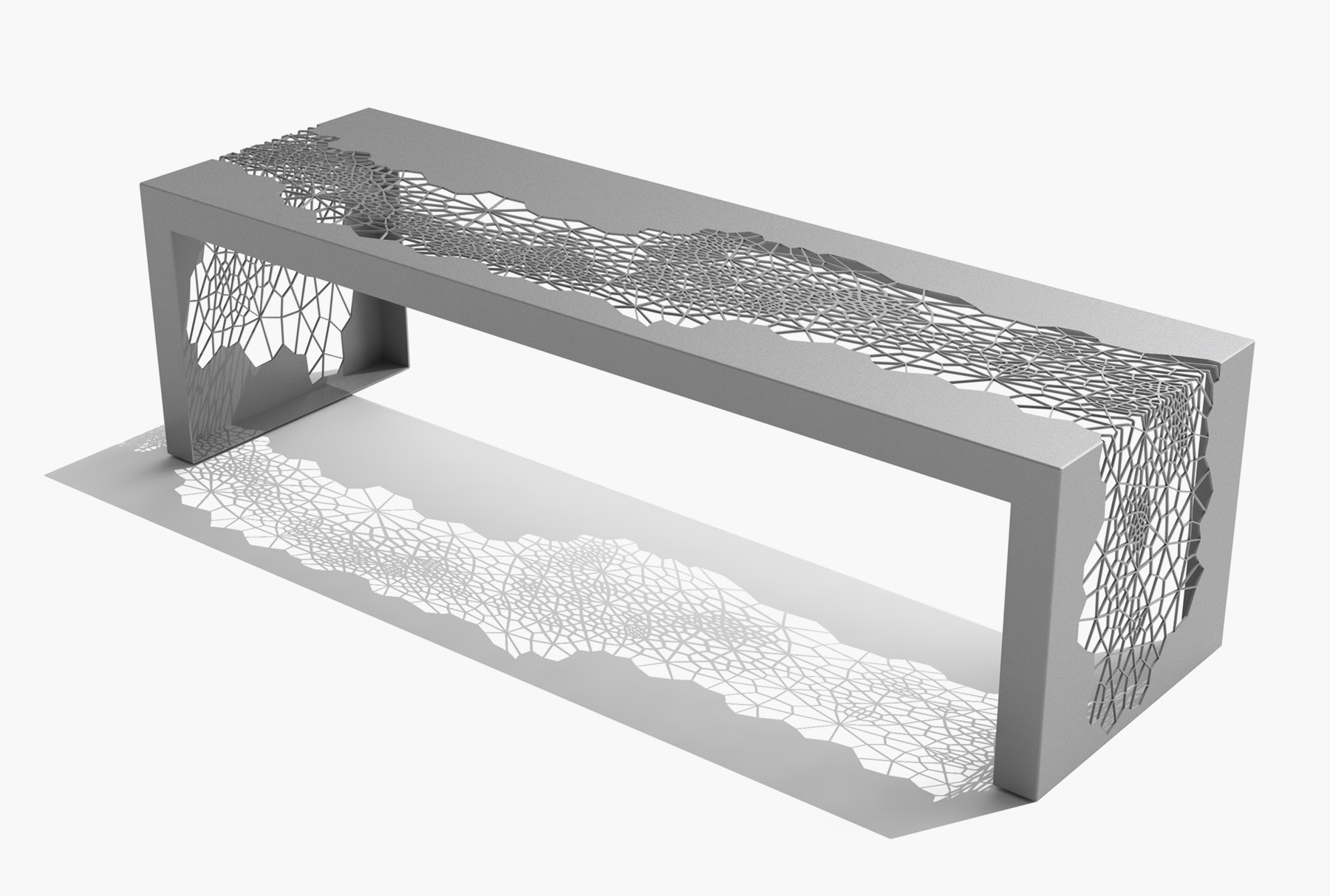 Arktura Hive Bench 60 in Silver Sand