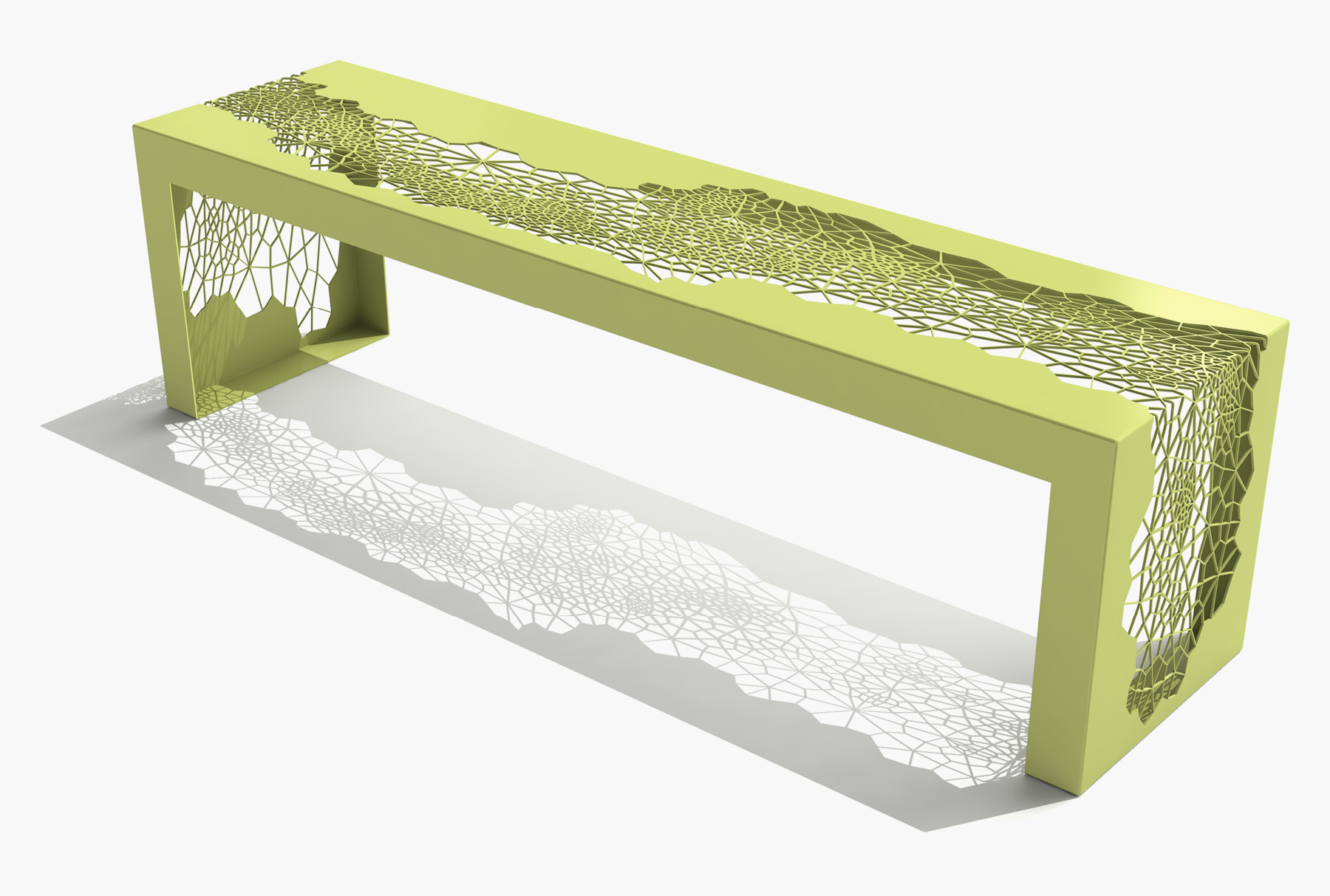 Arktura Hive Bench 70 in Lush Green