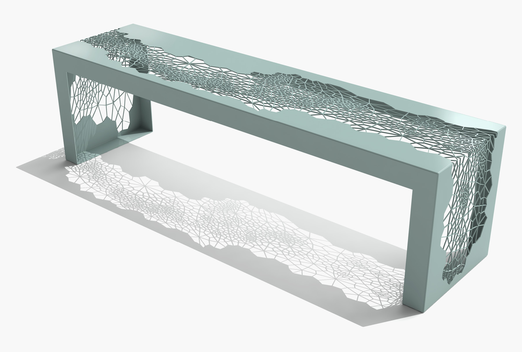 Arktura Hive Bench 70 in Sea Green