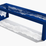 Arktura Hive Bench 70 in Baltic Blue