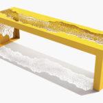 Arktura Hive Bench 70 in Bright Sun