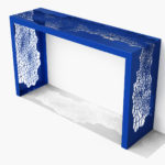 Arktura Hive Console in Baltic Blue