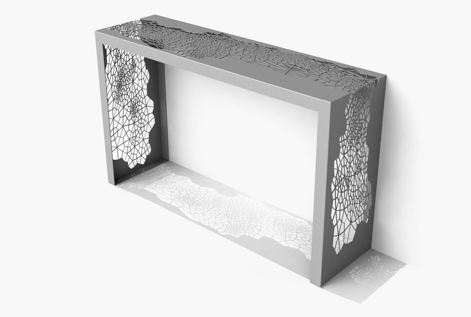 Arktura Hive Console in Silver Sand