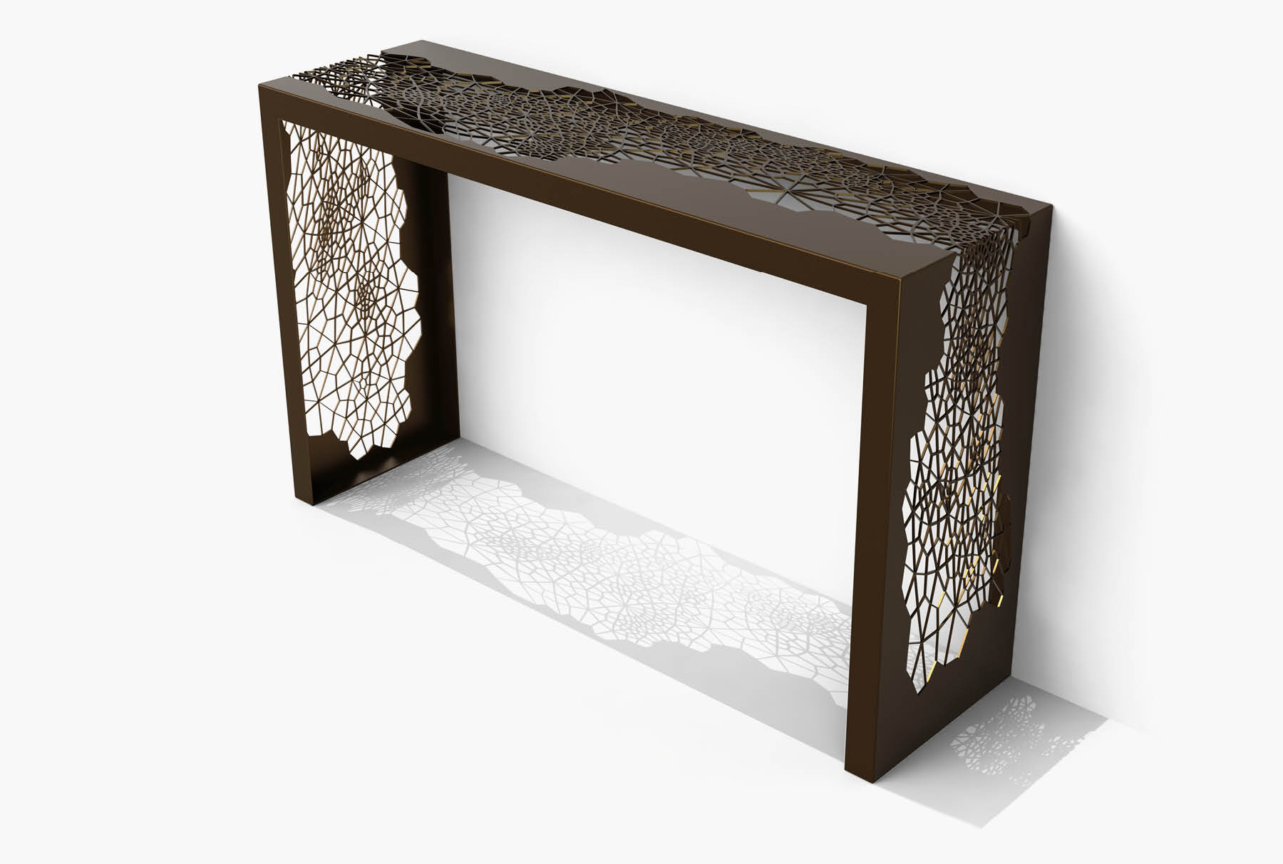 Arktura Hive Console in Burnished Bronze