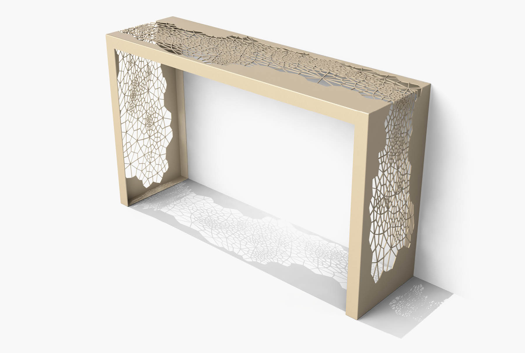 Arktura Hive Console in Chilled Champagne