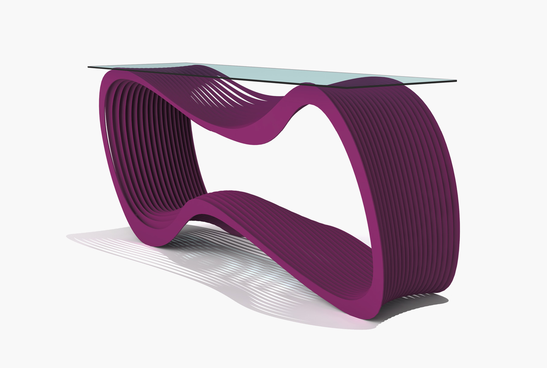 Arktura Loop Console in Wild Orchid