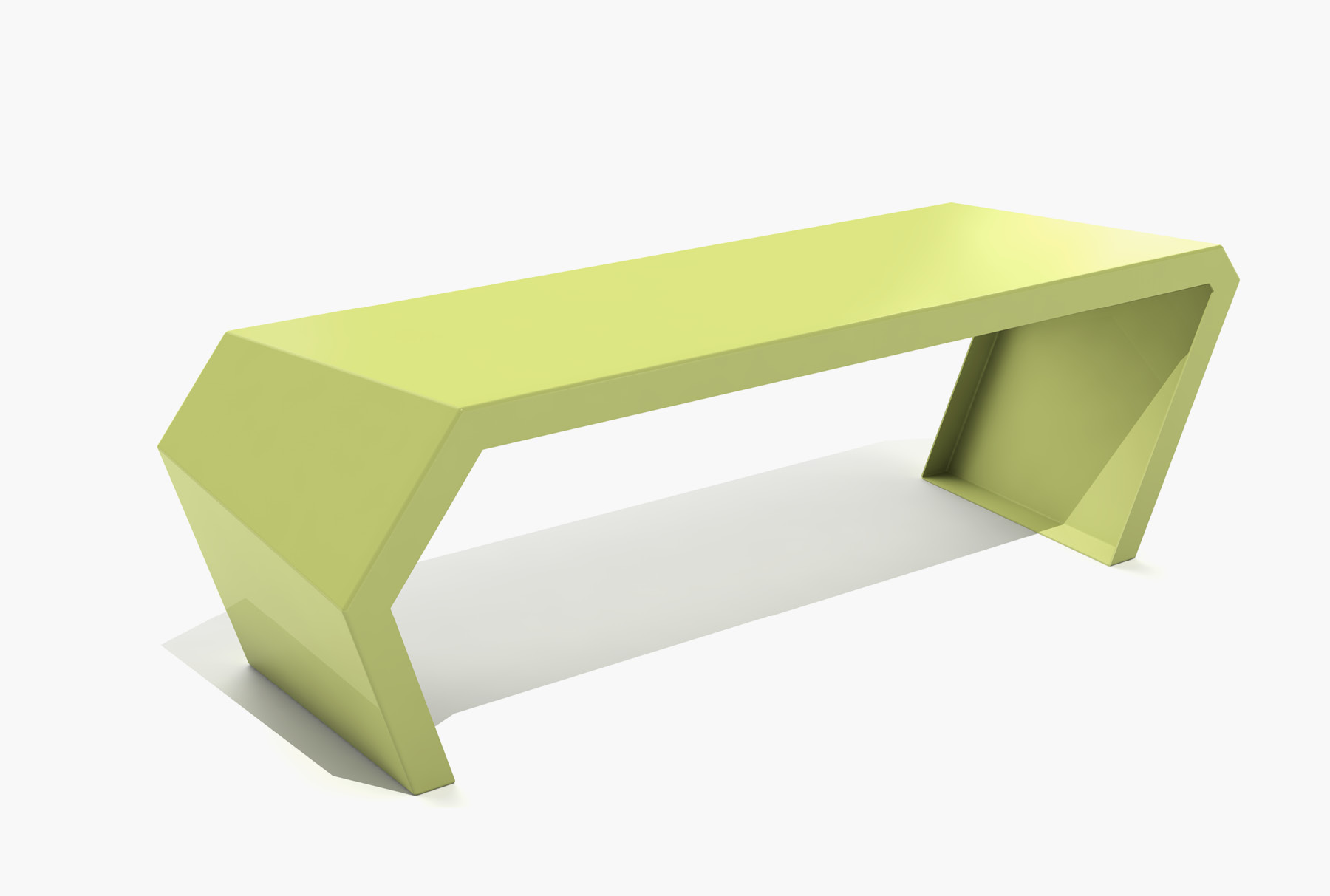 Arktura Pac Bench in Lush Green