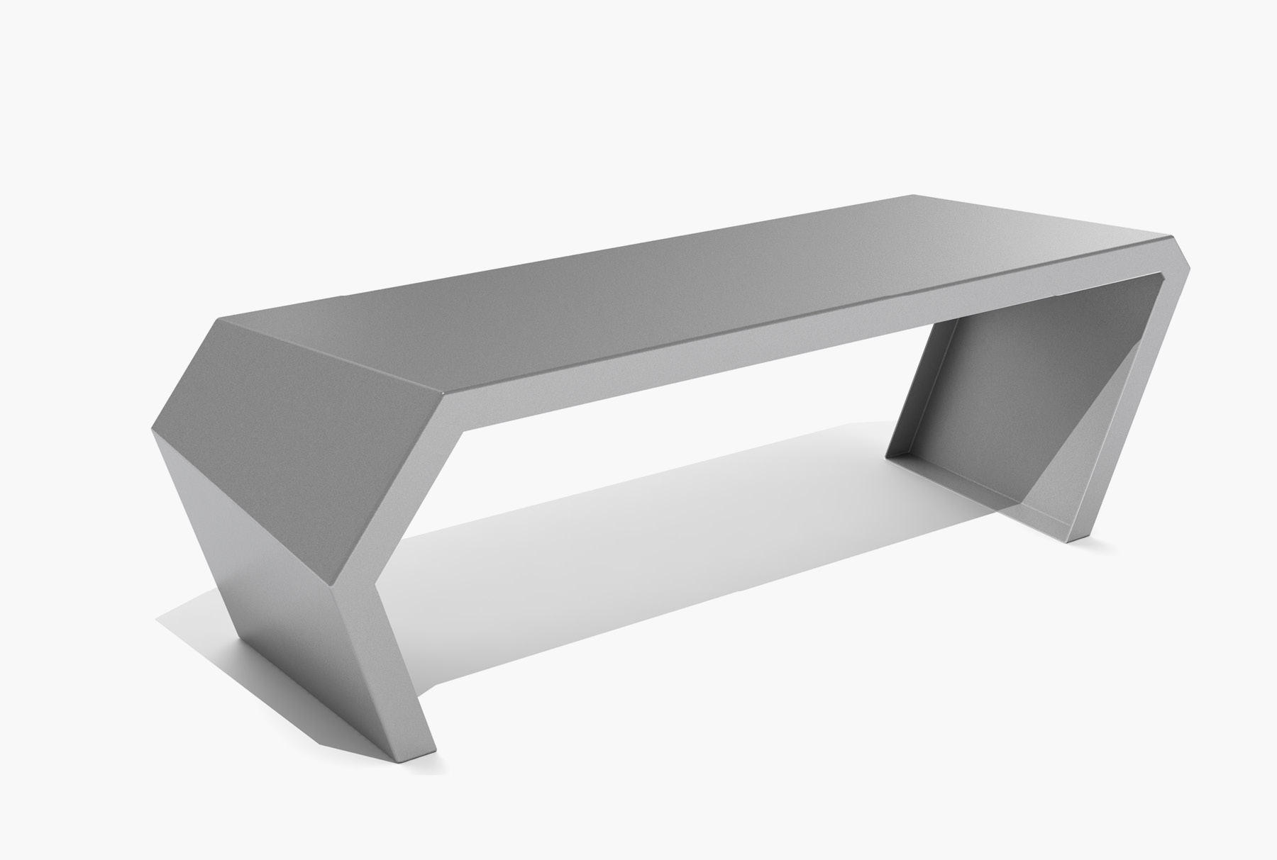Arktura Pac Bench in Silver Sand