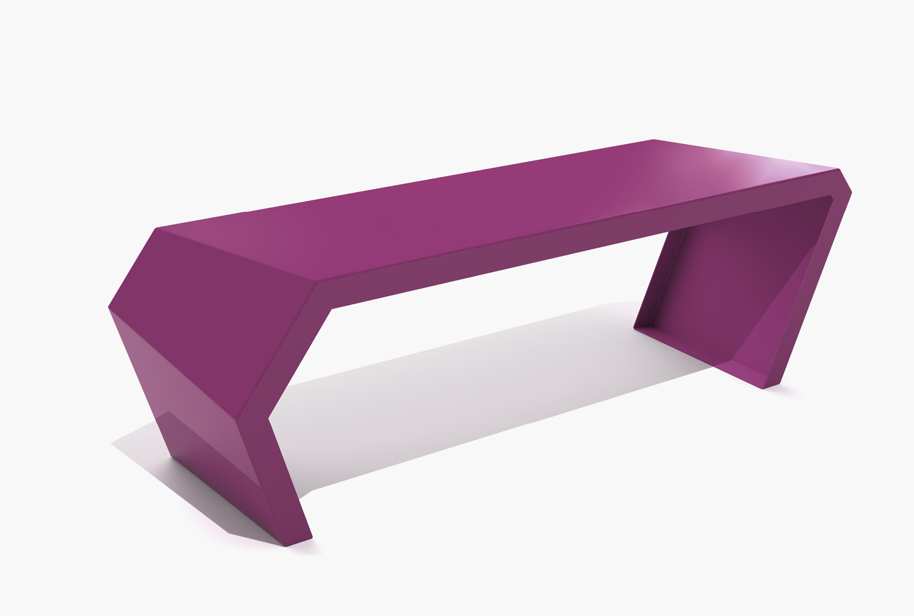 Arktura Pac Bench in Wild Orchid
